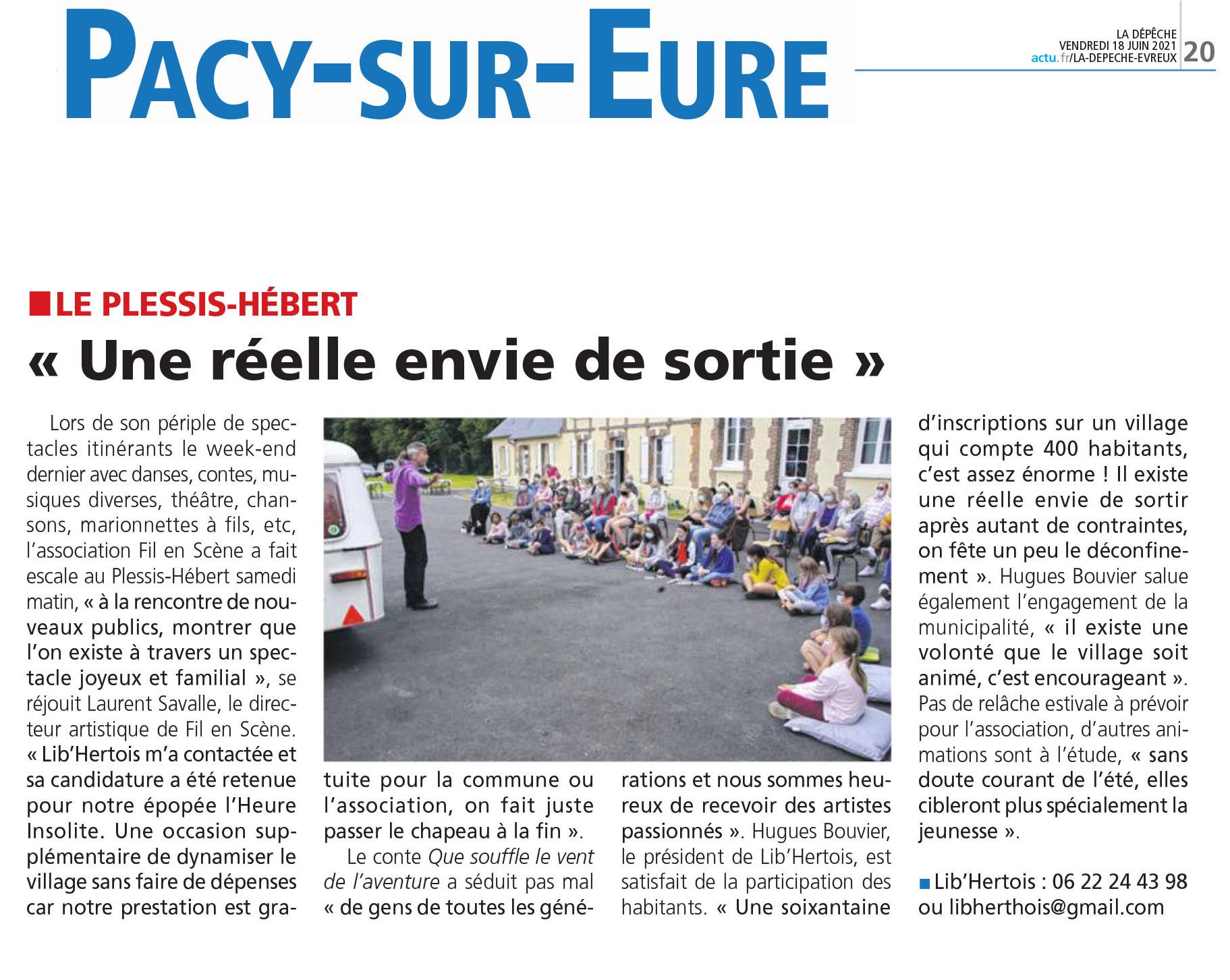 Paris Normandie du mardi 15 juin 2021