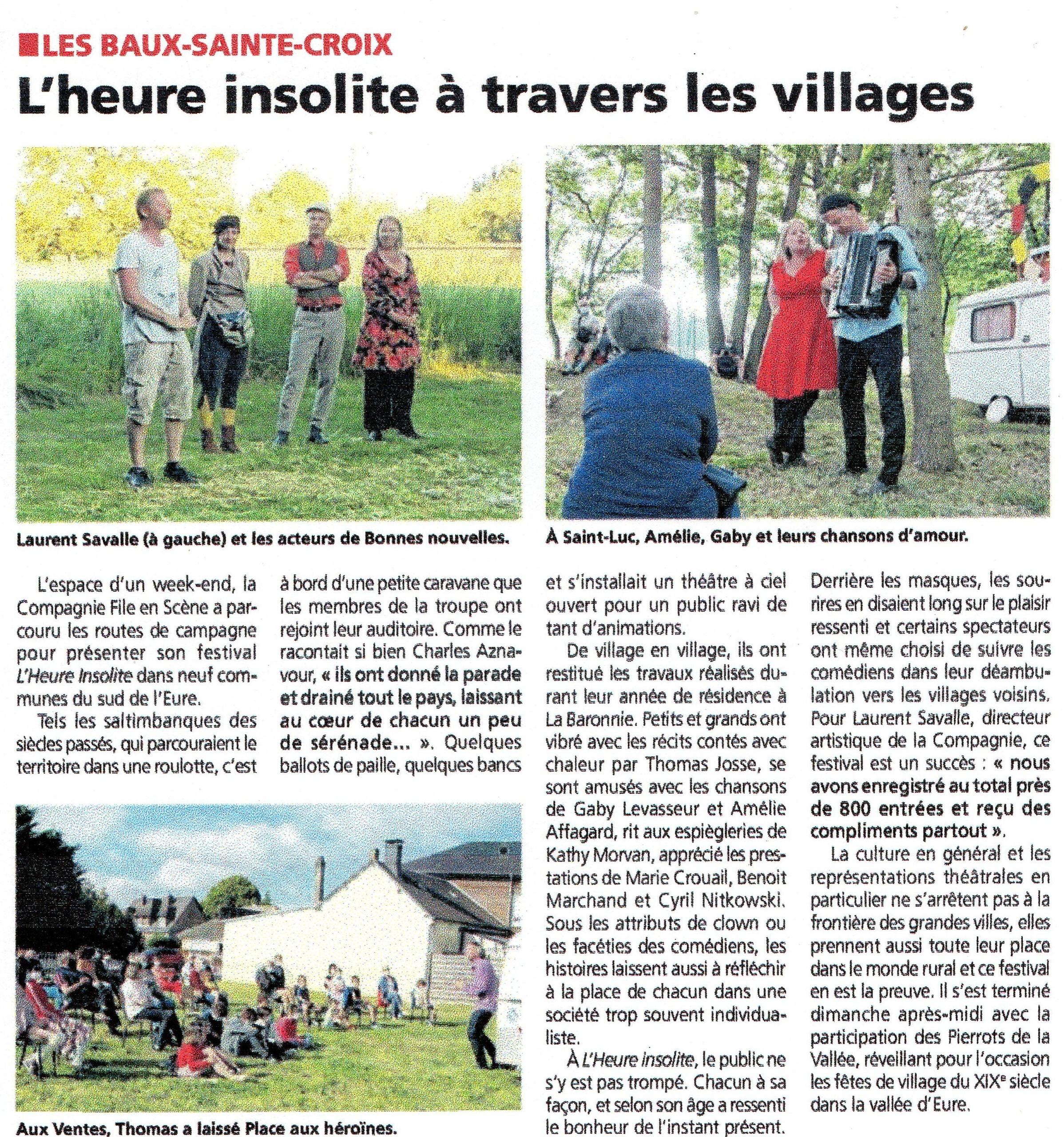 Presse Eure Infos du 16 juin 2021